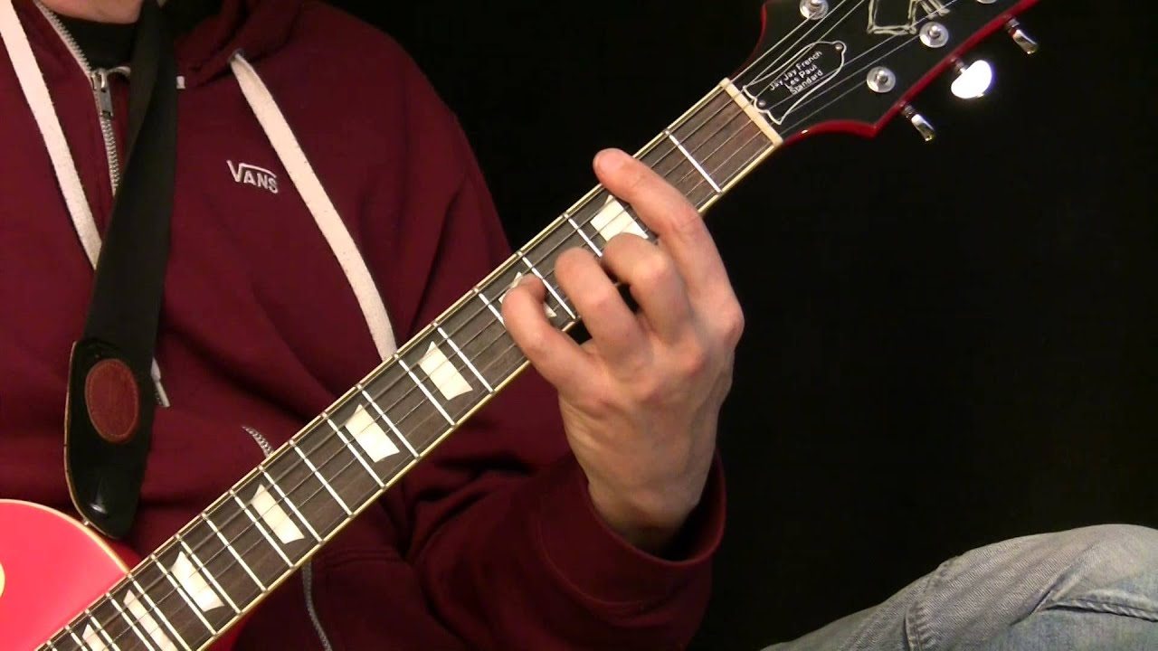 Guitar Lesson – Advanced 3 Chord Songs