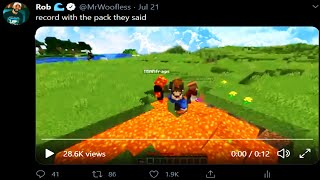 Twitter made the PACK record a video...