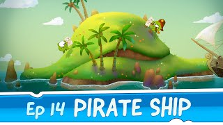 Om Nom Stories: Pirate Ship (Episode 14, Cut the Rope: Time Travel)