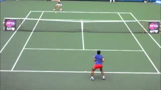 ■ HP JAPAN WOMEN'S OPEN TENNIS 2013 ■ EUGENIE BOUCHARD VS LUKSIKA KUMKHUM