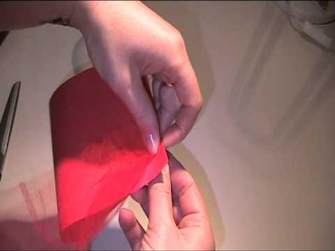 Tischkarte zur Verlobung - Video Anleitung