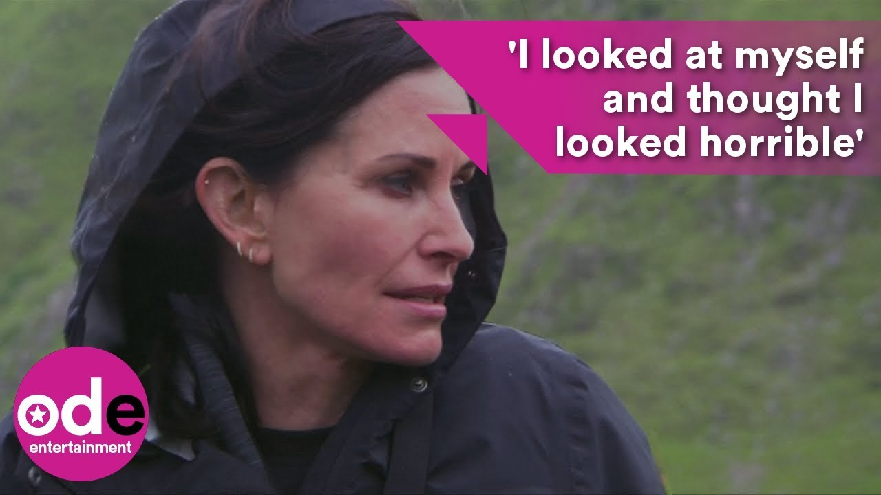 Courtney Cox: I looked at myself and thought I looked horrible