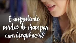 Dica - É importante mudar de shampoo com frequência?