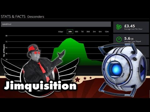 Pricing Games By The Hour Is Some Absurd Shit (The Jimquisition) (видео)