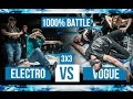 Electro vs. Vogue • 1000% Battle • Move&Prove International 8