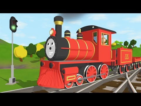 The Alphabet Adventure With Alice and Shawn the Train - FULL CARTOON - (Learn letters and words) (видео)