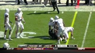 Johnthan Banks vs Texas A&M (2012)
