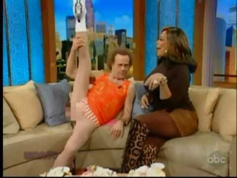 Richard Simmons Shows His Balls to Wendy Williams