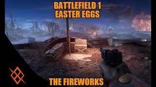 Battlefield 1 fireworks on nivelle nights Big thanks BFEE Comunity Map with fireworks...