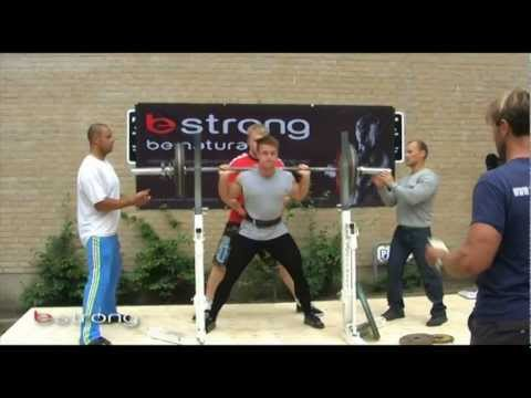 Video fra BESTRONG natural power lifting 2011