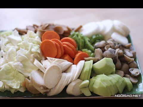 Thử tay nghề làm bếp với cách làm củ cải kho chay