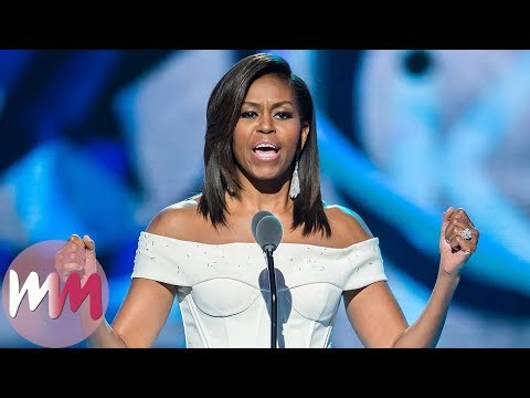 Top 10 Inspiring Michelle Obama Moments