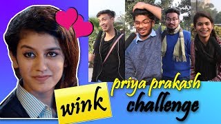 Video Priya Prakash Wink Challenge l Delhi on #Priya Prakash Varrier l Valentines Day special review MP3, 3GP, MP4, WEBM, AVI, FLV Maret 2018