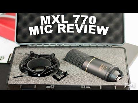 MXL-770 Condenser Mic Review / Test