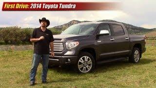 First Drive: 2014 Toyota Tundra Platinum CrewMax