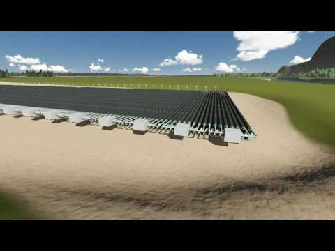 Advanced Enviro-Septic(R) system installation model