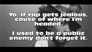 If Rap Gets Jealous - K'naan (LYRICS ON SCREEN)