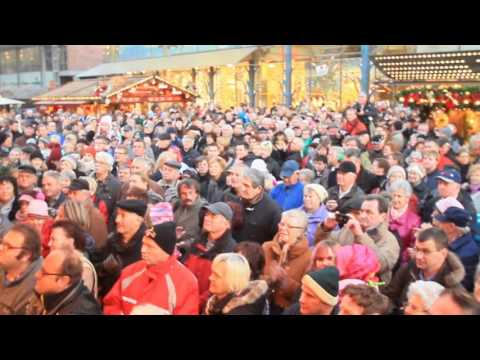 Weihnachtsmarkt Chemnitz: Der Chemnitzer Weihnachtsmarkt ist eröffnet