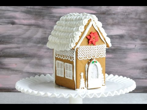 CHRISTMAS GINGERBREAD LACE HOUSE, HANIELA'S