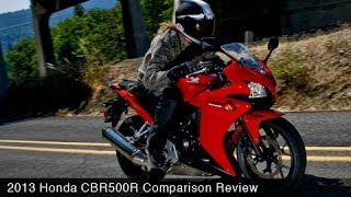 2. 2013 Honda CBR500R vs Ninja 300 & 650 Comparison - MotoUSA