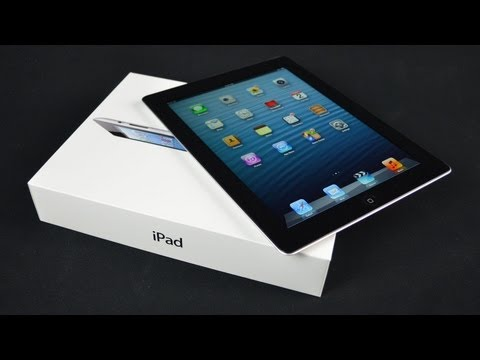DetroitBORG - Unboxing and demo of the new 4th generation iPad with retina display. $499 Apple iPad: http://www.apple.com/ipad/overview/ Detailed Specs: http://www.apple.c...