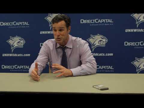 BU Hockey - Coach Quinn Postgame (1/12/18 at New Hampshire)