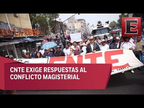 Sección 22 reanuda bloqueos en Oaxaca