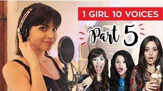 Video 1 GIRL 10 VOICES! (CAMILA CABELLO, KATY PERRY, SELENA GOMEZ & 7 MORE) MP3, 3GP, MP4, WEBM, AVI, FLV Desember 2018