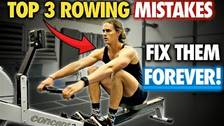Video Rowing Machine: TOP 3 MISTAKES (AND DRILLS TO FIX THEM!) MP3, 3GP, MP4, WEBM, AVI, FLV Agustus 2019