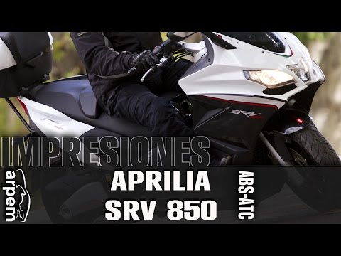 Videoprueba APRILIA SRV 850 ABS-ATC.- Arpem.com EU