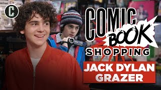 Shazam's Jack Dylan Grazer Goes Comic Book Shopping and Talks Batman, Joker & Umbrella Academy by Collider