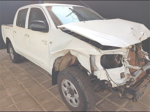 Vídeo da Toyota Hilux CD 4X4, placa NWX-8993 (venda em leilão)