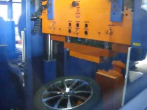 Тест литых дисков WSP Italy W454 RIACE на удар спицы (Volkswagen)