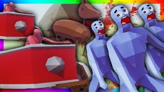 UNLEASH THE STUPID HORSES!!! Totally Accurate Battle Simulator (CONTROL THE BATTLEFIELD)
