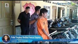 Polisi Tangkap Sindikat Pencuri dan Penggelapan Sepmor di Nagan Raya