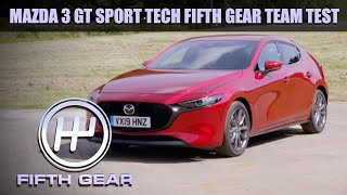 Mazda 3 Team Test Review   Fifth Gear by Fifth Gear