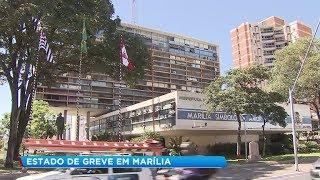 Servidores municipais entram em estado de greve em Marília