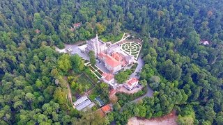 Luso Portugal  city photos : Bussaco - Palace Hotel - Cruz Alta - Luso aerial view - 4K Ultra HD