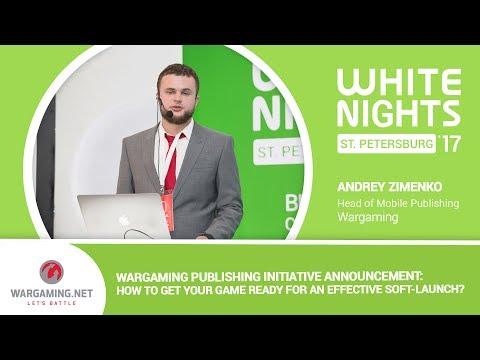 Andrey Zimenko (Wargaming) - Wargaming Publishing Initiative Announcement