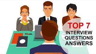 Video TOP 7 Interview Questions and Answers (PASS GUARANTEED!) MP3, 3GP, MP4, WEBM, AVI, FLV Agustus 2019