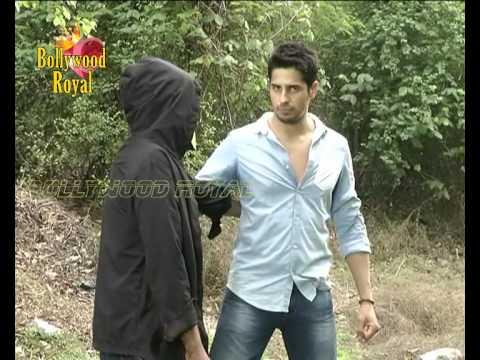 Video Siddharth Malhotra does Action Scene for 'Ek Villain' for TV Series download in MP3, 3GP, MP4, WEBM, AVI, FLV January 2017