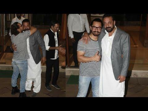 Aamir Khan Attends Sanjay Dutt's Diwali Party | Di