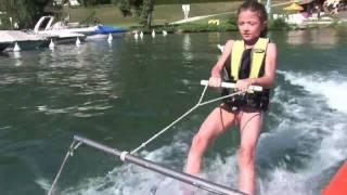 Découverte du ski nautique et du wakeboard sur le lac d\'Annecy
