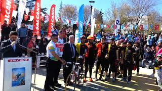 Iv Şehitlere Saygı Bisiklet Turu 100 Yıl Salcano Bisiklet Hediyesi