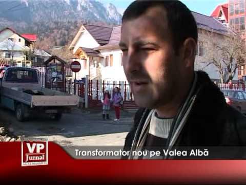 Transformator nou pe Valea Albă