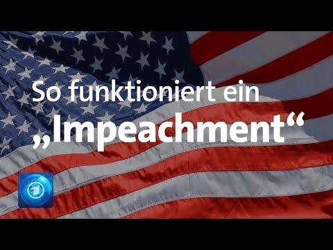 """Amtsenthebungsverfahren gegen Trump? So funktioniert das """"Impeachment"""""""