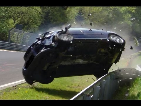 Nürburgring - No person was seriously injured in this video! STR.