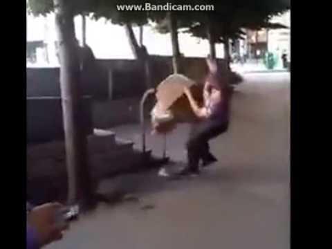 Idiot vs Trash Bin