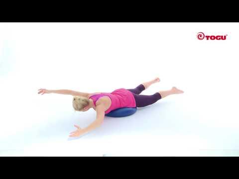 Ganzkörpertraining mit dem Dynair® Ballkissen® XXL Exercise 8