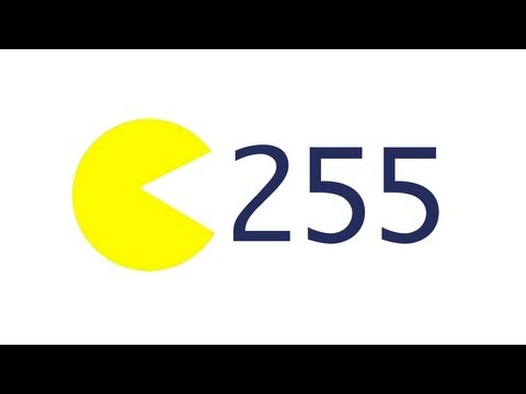 255 - Explaining binary to understand why Pac-Man becomes unplayable after 255 levels. Follow Numberphile on Facebook at http://www.facebook.com/pages/Numberphile/...